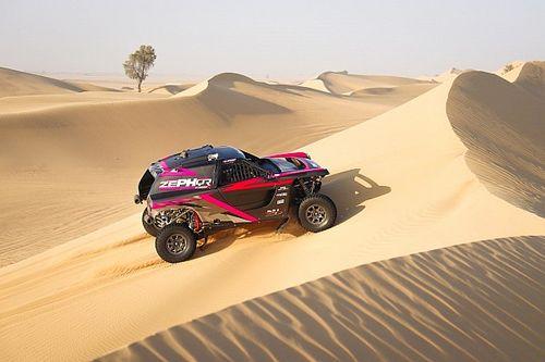 """Kris Meeke """"comme en enfant à Noël"""" en découvrant les dunes"""
