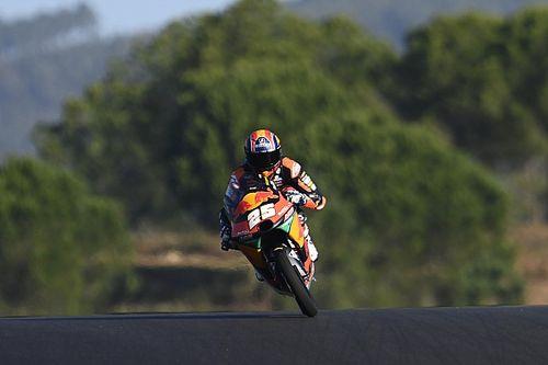 Moto3 - Portugal: Arenas saldrá por detrás de Ogura a por el título; Raúl Fernández, pole