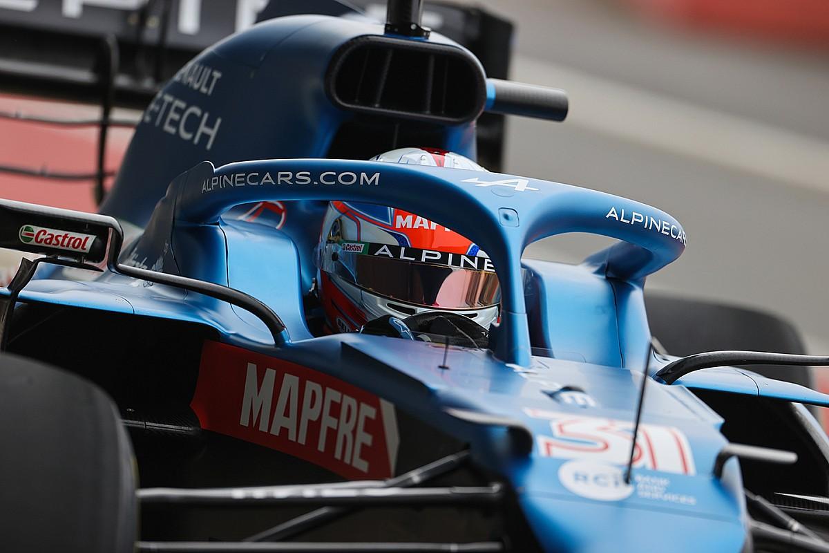 Esteban Ocon boucle une journée de piste avec la nouvelle Alpine - Motorsport.com, Édition: France
