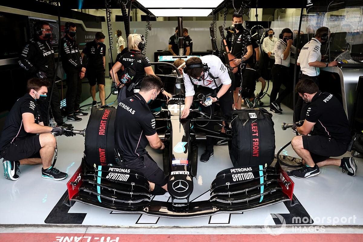 Mercedes Umumkan Jadwal Rilis Mobil F1 2021