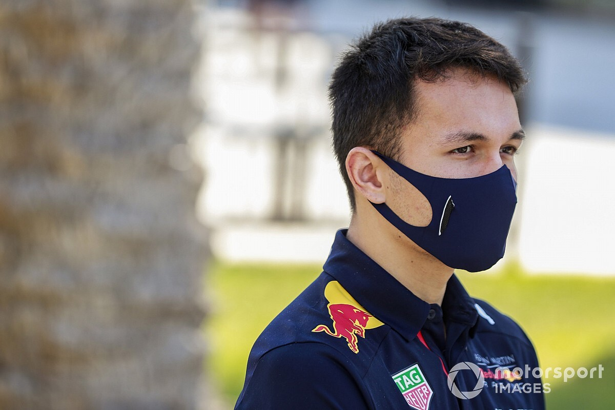 F1: Albon fala de 'plano B' caso não fique na Red Bull em 2021
