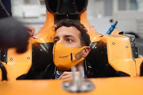 Риккардо поставил перед McLaren техническое ограничение. Это ширина его бедер