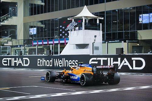 McLaren MCL35M jak nowy