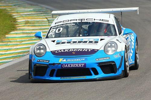 Porsche Cup: Guilherme Salas e Pedro Aguiar lideram último treino livre em Interlagos