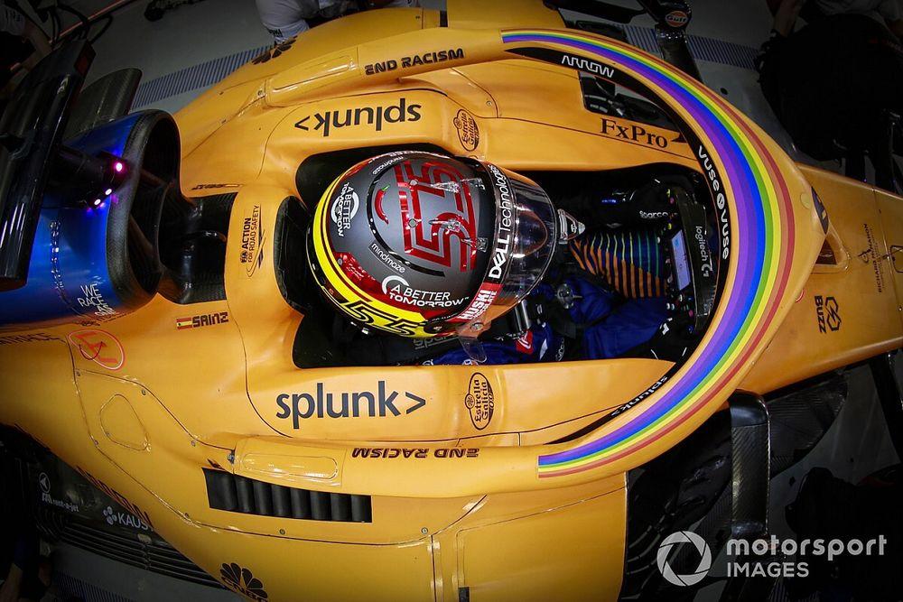 """Sainz salue """"l'environnement sain"""" de McLaren, où il s'est épanoui"""