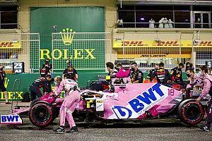Racing Point, Bahreyn'deki ilk olayın ardından yeterli yedek parçaya sahip değilmiş
