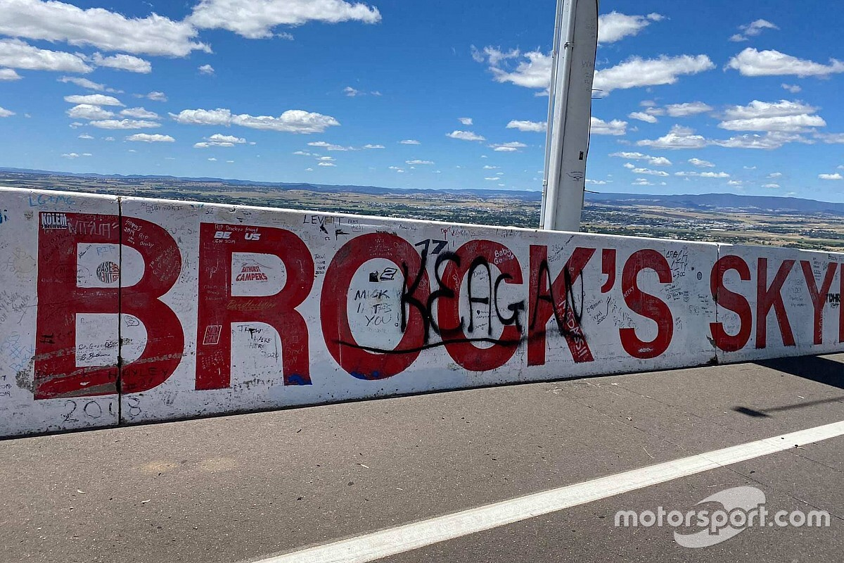 Vandals hit Mount Panorama
