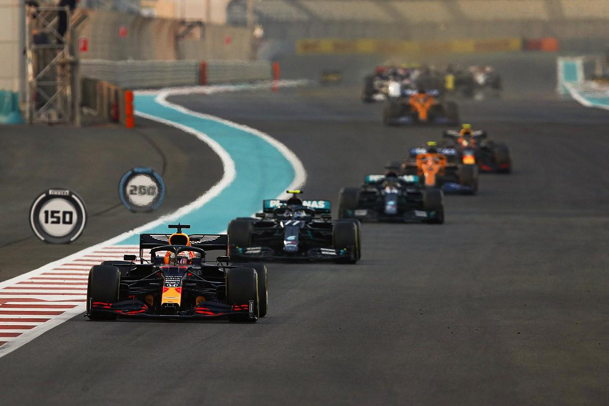 2020 F1 Abu Dhabi Grand Prix race results