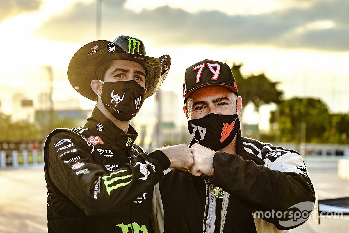 Gus Koch desfila sua BMW raspando os muros e vence a terceira etapa do Ultimate Drift em final emocionante com João Barion