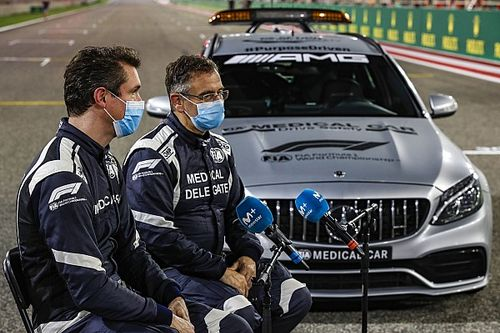 F1: Piloto do carro médico deve perder GPs por não se vacinar