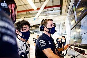 角田裕毅、コンビ組むガスリーは「すごいドライバー。彼から学び、ドライビングを改善したい」