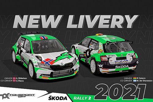 Toksport WRT Luncurkan Livery Baru untuk WRC2 2021