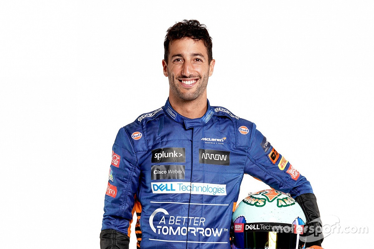 Ricciardo estrenará el nuevo McLaren en Silverstone el martes