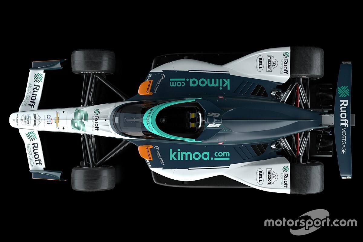 VIDEO: Alonso tiene listo su monoplaza para Indy 500 2020