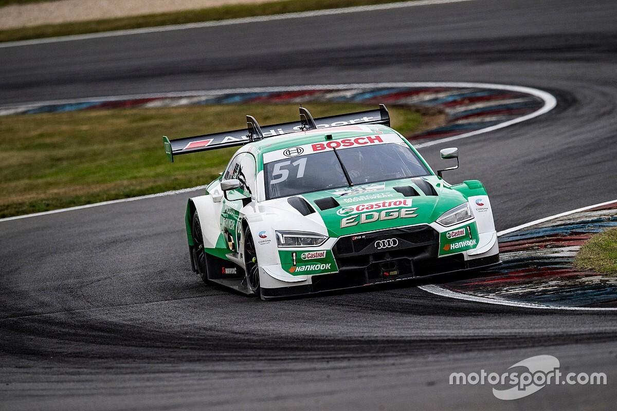 DTM Lausitzring: Dominante Müller wint weer, Frijns derde