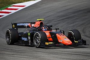 F2バルセロナ:レース2はドルゴビッチが優勝。角田裕毅は4位、松下信治は5位