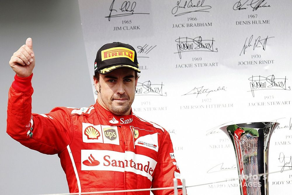 Alonso: Second place used to lead to 'funeral' atmosphere