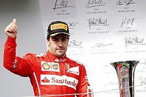 """F1 - Alonso diz que pódios com Ferrari não eram respeitados: """"Coletivas eram como um velório"""""""