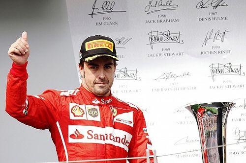 """Alonso: ''Eskiden ikinci olduğumda insanları mutlu etmezdi"""""""