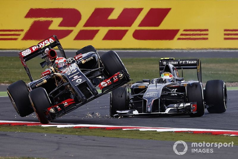 """Maldonado y su época en Lotus: """"Siempre era un desastre"""""""