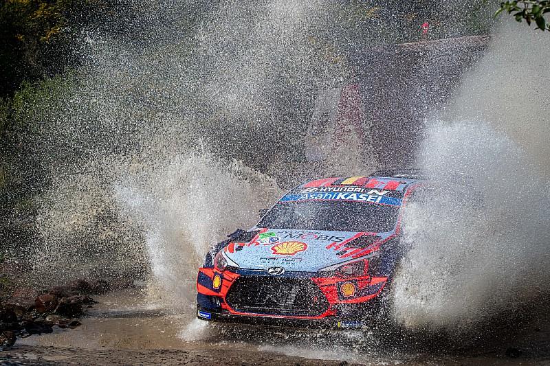 Le Rallye du Mexique a bien lieu, Neuville premier leader