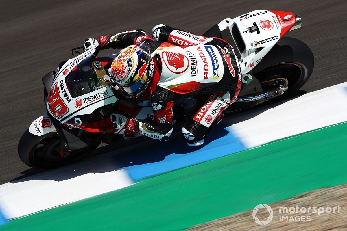 MotoGPアンダルシアFP2:中上貴晶がトップタイム! ドゥカティ乗り換えザルコ2番手