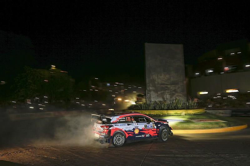 Fotos: el impresionante estreno urbano del Rally de México