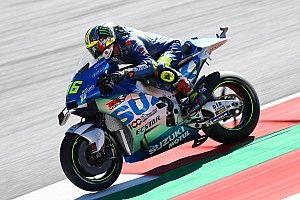 MotoGPスティリアFP3:スズキのジョアン・ミル、トップタイム。中上が3番手でQ2進出
