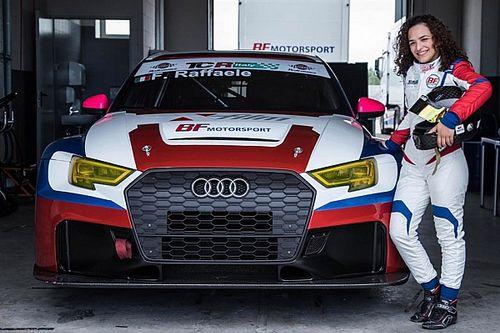 TCR Italy: Francesca Raffaele sale sull'Audi DSG di BF Motorsport