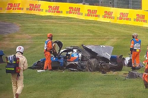 "Laurent sorry for ""unforgivable"" mistake after Spa crash"