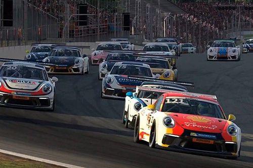 Fraga, Gomes, Jimenez, Paludo e mais: confira os inscritos para a Corrida das Estrelas da Porsche Cup em automobilismo virtual