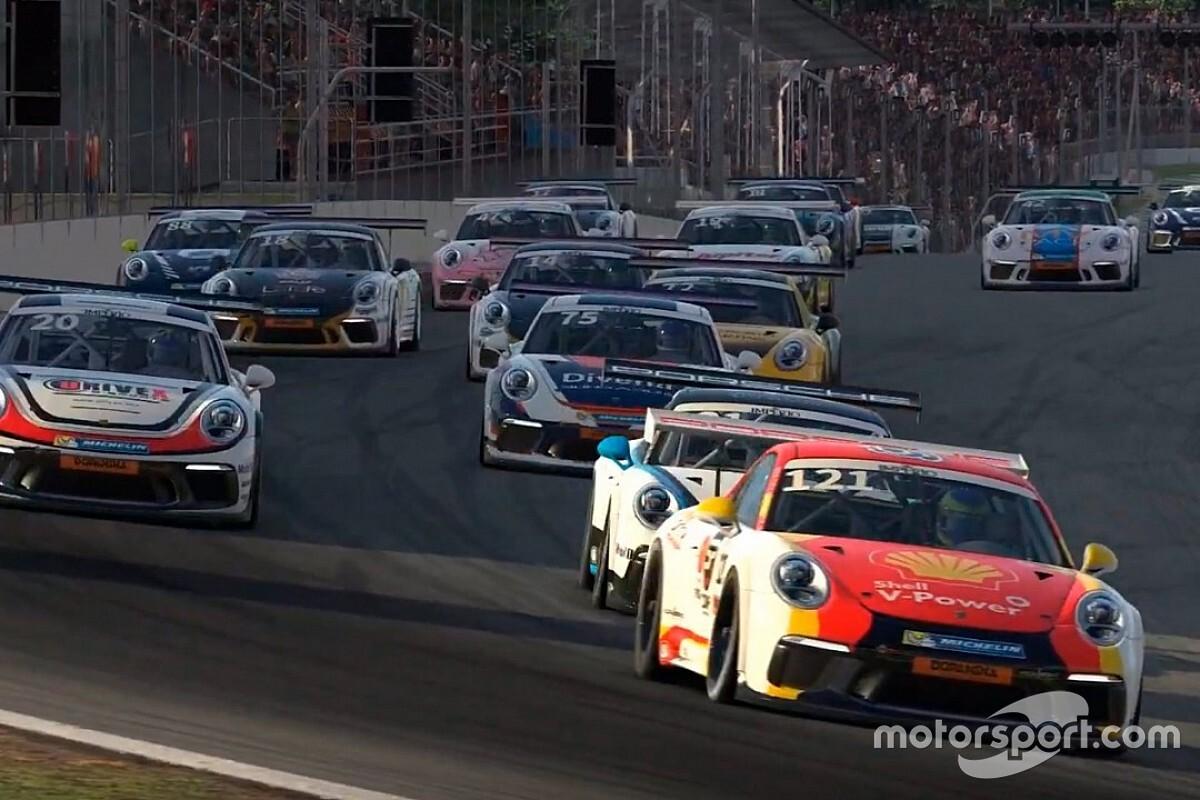 Corrida das Estrelas da Porsche Cup será seletiva para o primeiro piloto Shell de automobilismo virtual