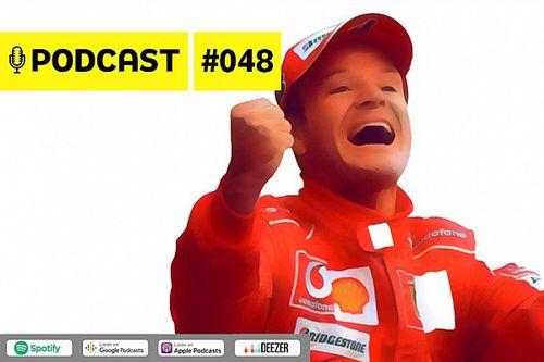 Podcast #048 – Entrevista com Rubens Barrichello: as curiosidades da carreira do recordista da F1