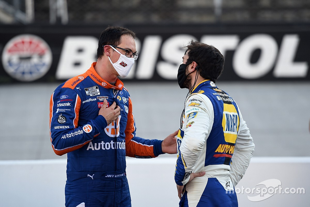 "Chase Elliott: ""I'll certainly take the blame"" on Logano wreck"