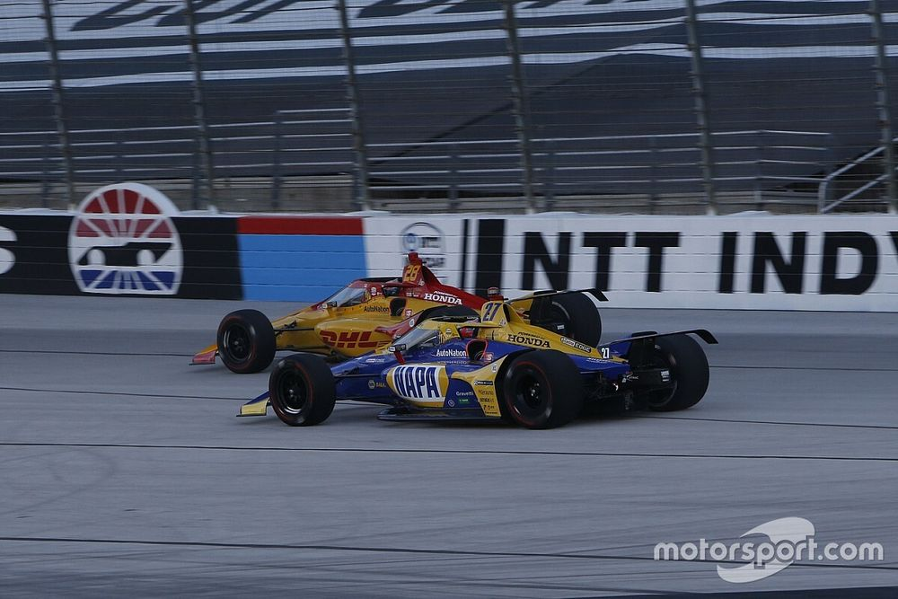 Software issue caused Hunter-Reay, Rossi, Rahal problems