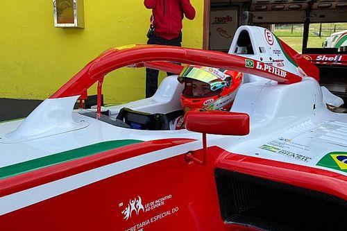 Gianluca Petecof volta da quarentena e domina treinos da F3 Regional Europa em Mugello