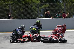 VÍDEO: veja o 'strike' provocado por Lorenzo na MotoGP em Barcelona