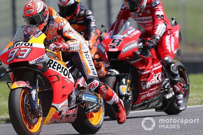 """Marquez állítja, ráállították a Ducatit: Dovizosót nem zavarta a """"trükk"""""""