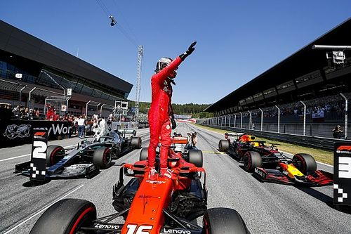 GP Austria: Leclerc sabet pole, Vettel bermasalah