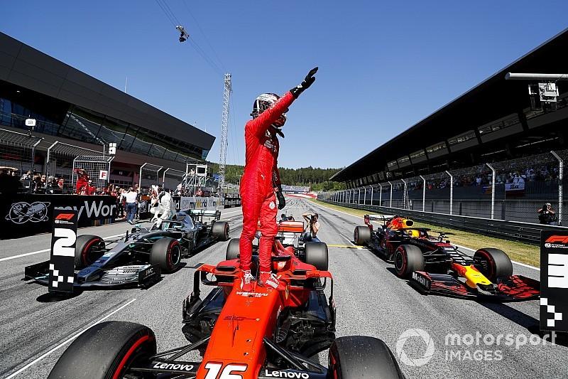 Videón Leclerc köre, amivel simán megszerezte a pole-t