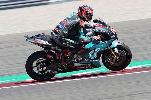 Куартатаро стал быстрейшим в первой тренировке MotoGP в Германии