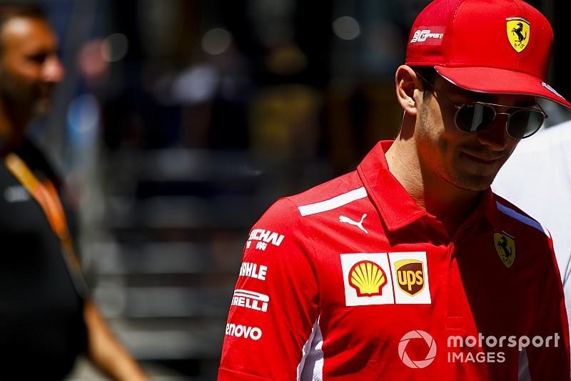 """Leclerc-üzenet: """"Kicsit feljebb tekerem az agressziómat..."""""""