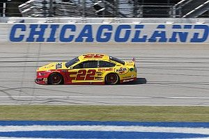 Joey Logano leads final Cup practice at Chicagoland