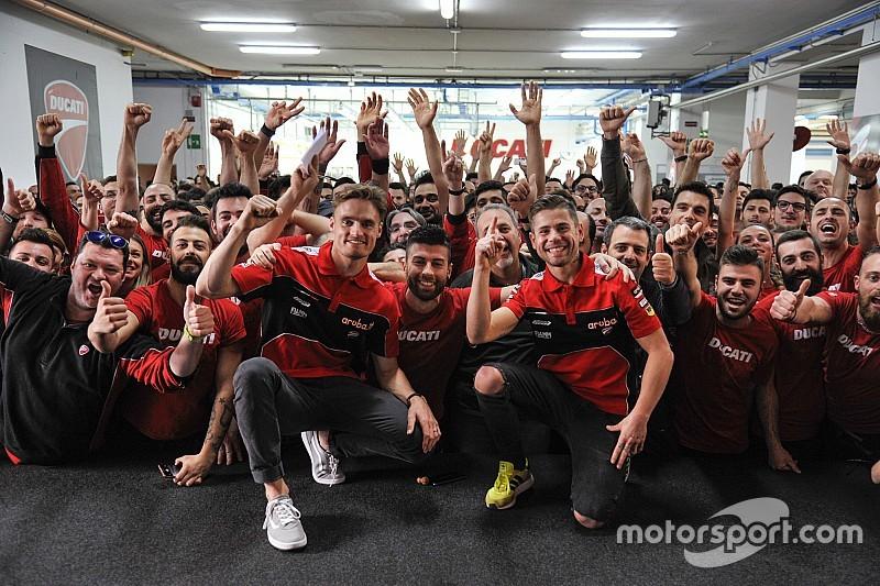 Ducati festeggia le 350 vittorie in Superbike a Borgo Panigale