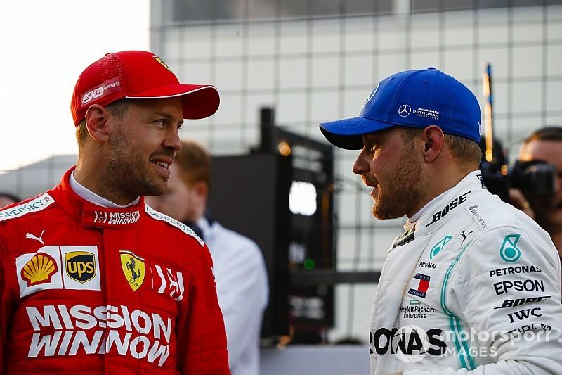 Vettel a Spanyol Nagydíjon már levadászná a Mercedest