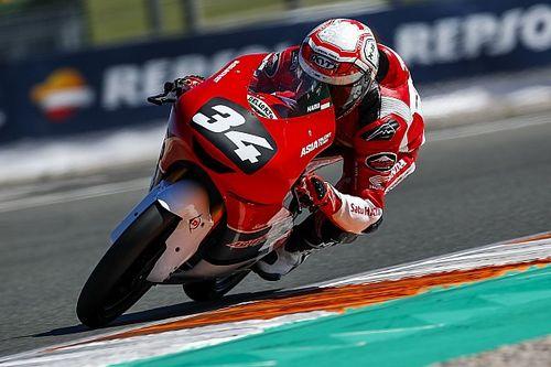 CEV Moto3 Valencia: Akhir pekan sulit Mario SA