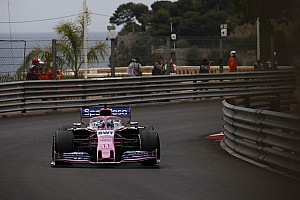 "Perez ""very lucky"" to avoid hitting Monaco marshals"