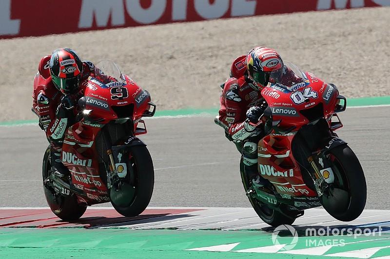 Une Ducati face à ses limites à Assen