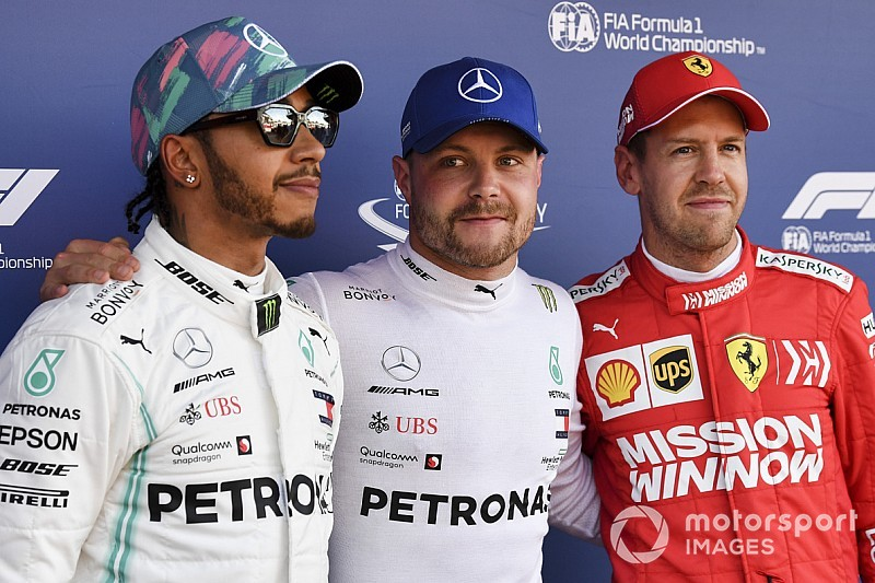 Chi ha i numeri (Bottas, Hamilton e Verstappen) e chi no (Vettel)