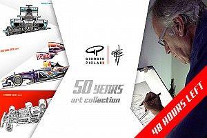 """Solo 48 ore per partecipare alla campagna Kickstarter """"50 Years Collection"""" di Giorgio Piola"""